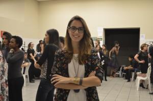 Mariana Cezário, trabalha há 10 anos com produção executiva