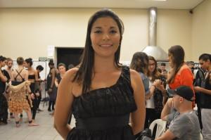 Michele Rodrigues, formanda do curso de moda da UNA