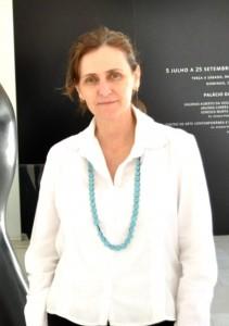 Gerente de artes visuas da Fundação Clóvis Salgado, Fabíola Moulin