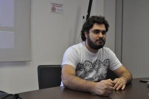 Paulo Proença, 27, assessor artístico e editor do website